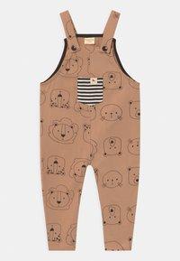 Turtledove - CUB FACE EASY FIT DUNGAREES UNISEX - Mono - brown - 0