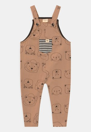 CUB FACE EASY FIT DUNGAREES UNISEX - Jumpsuit - brown