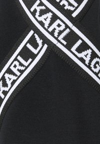KARL LAGERFELD - COLD SHOULDER DRESS - Denní šaty - black - 6