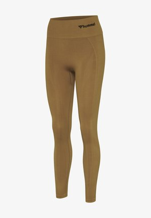 Tights - antique bronze