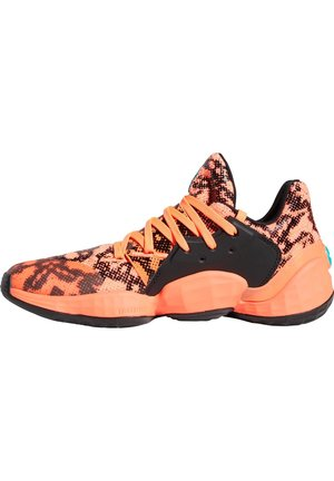 HARDEN VOL. 4 BASKETBALLSCHUH HERREN - Basketball shoes - signal coral/core black