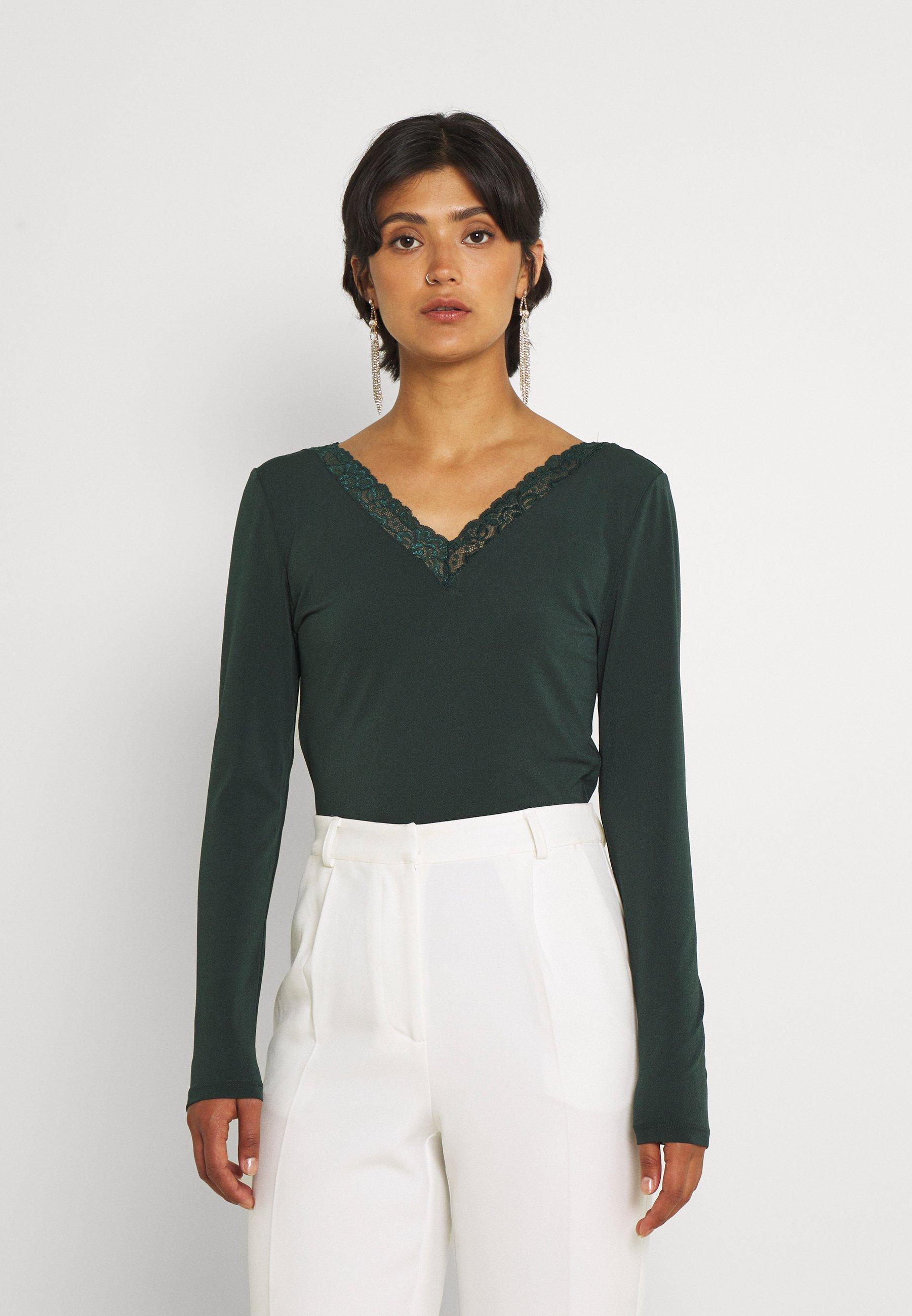 Women VIBORNEO VNECK DETAIL - Long sleeved top