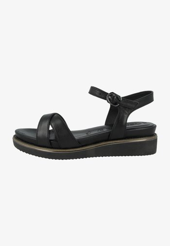 1-28225-26  - Sandals - black leather