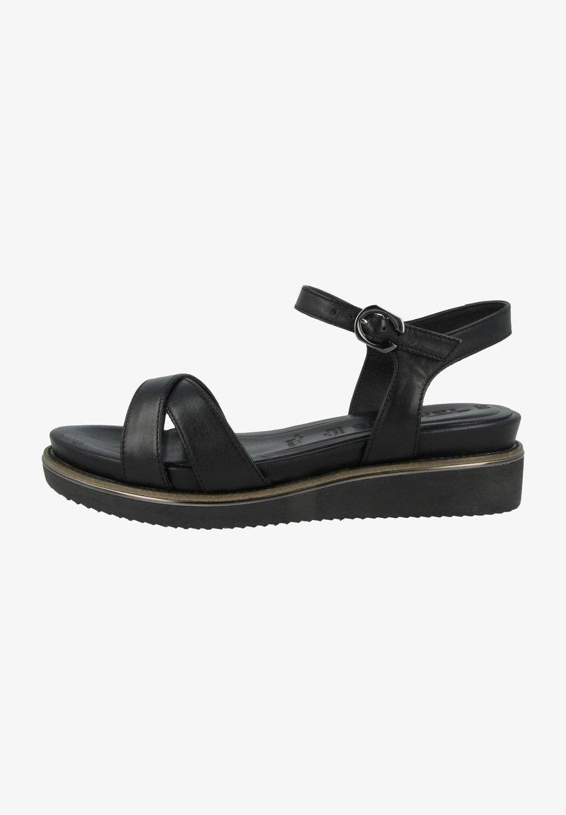Tamaris - 1-28225-26  - Sandals - black leather