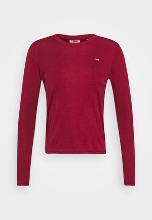 BABY TEE - Topper langermet - biking red