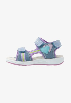 Walking sandals - light blue