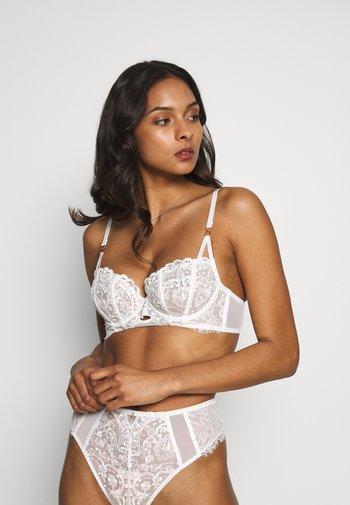FIERCELY SEXY NON PAD - Kaarituelliset rintaliivit - white/nude