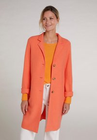 Oui - Classic coat - apricot - 0