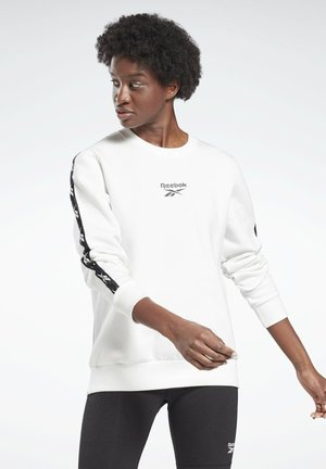TRAINING ESSENTIALS CREW SWEATSHIRT - Sweatshirt - white