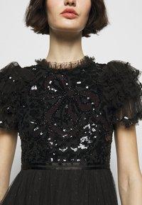 Needle & Thread - SHIRLEY RIBBON BODICE ANKLE DRESS - Společenské šaty - ballet black - 5