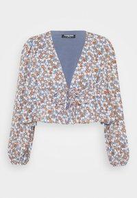 Fashion Union Petite - Blouse - blue - 4