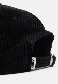 Obey Clothing - BOLD STRAPBACK UNISEX - Lippalakki - black - 3
