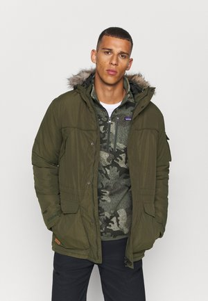SALINGER II - Winter jacket - dark khaki