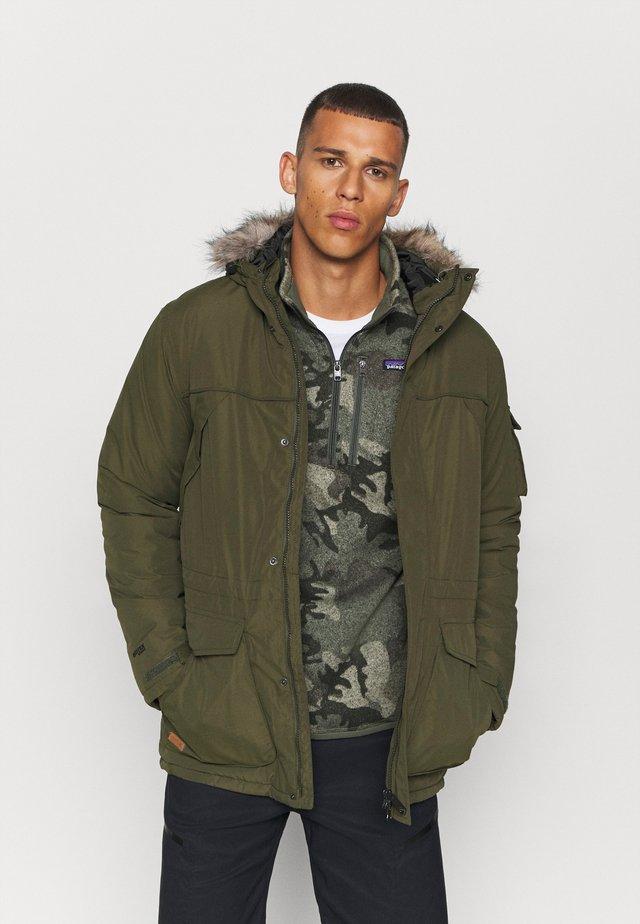 SALINGER II - Zimní bunda - dark khaki