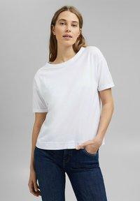 Esprit - Basic T-shirt - white - 0
