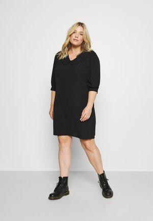 CARNOVA 3/4 KIM TUNIC DRESS - Korte jurk - black