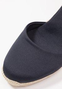 ALOHAS - CLARA BY DAY - High heeled sandals - navy - 2