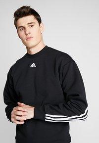adidas Performance - CREW - Sweater - black/white - 3