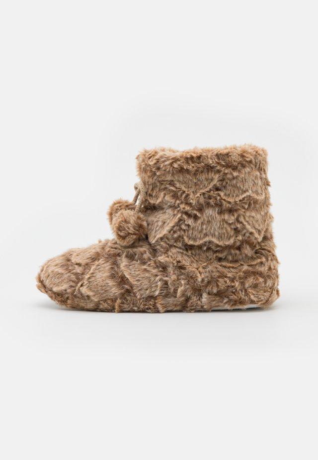 Pantoffels - oatmeal