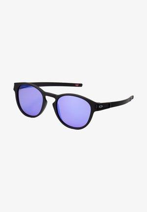 LATCH - Sluneční brýle - latch matte black /prizm violet