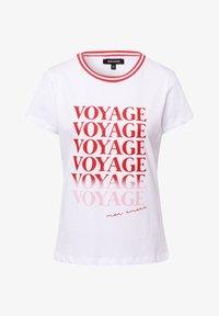 More & More - WORDING - Print T-shirt - white - 2