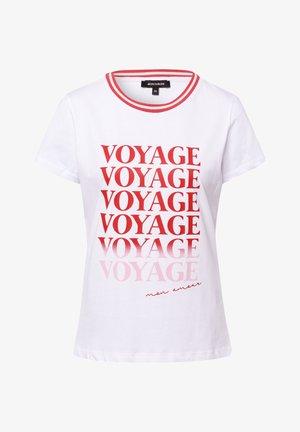 WORDING - Print T-shirt - white