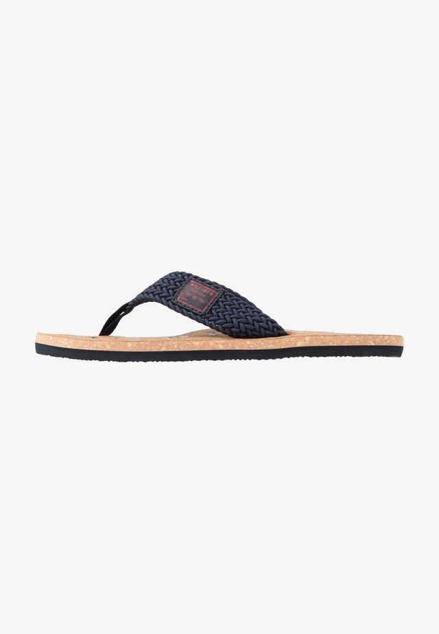 CASUAL BEACH  - T-bar sandals - blue
