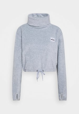 PEG CROPPED - Fleecepullover - grey