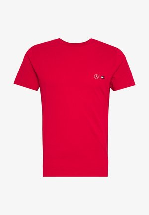 TOMMY X MERCEDES-BENZ - Basic T-shirt - red