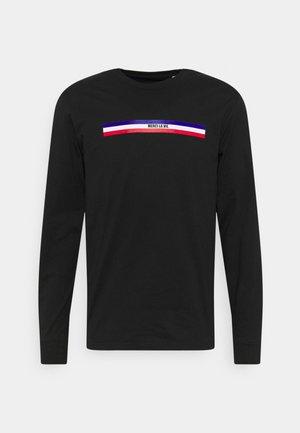 LONGSLEEVE MERCI LA VIE UNISEX - Long sleeved top - black