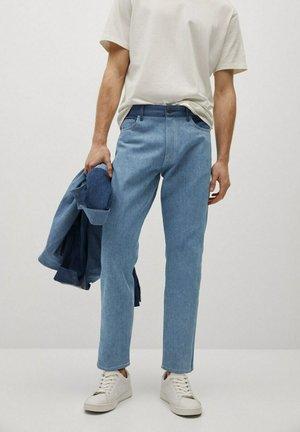 Jeans baggy - mellemblå