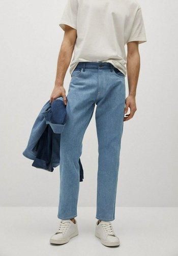 Jeans Relaxed Fit - mellemblå