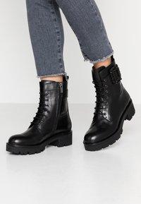 Bruno Premi - Platform ankle boots - nero - 0