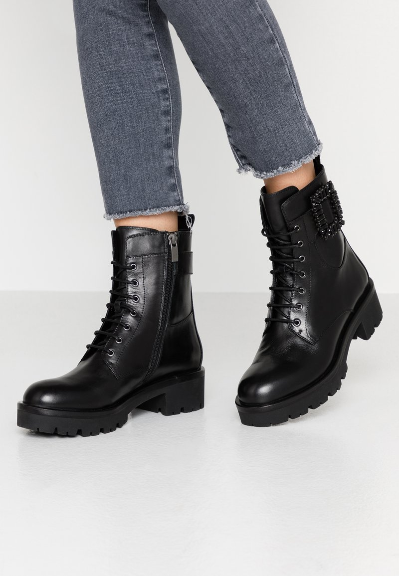 Bruno Premi - Platform ankle boots - nero