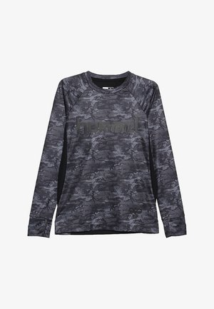 ROAR - Long sleeved top - black/grey