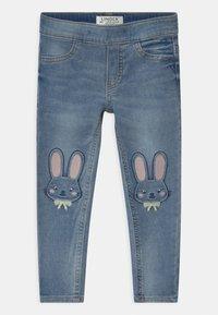 Lindex - KARIN - Jeans slim fit - blue denim - 0