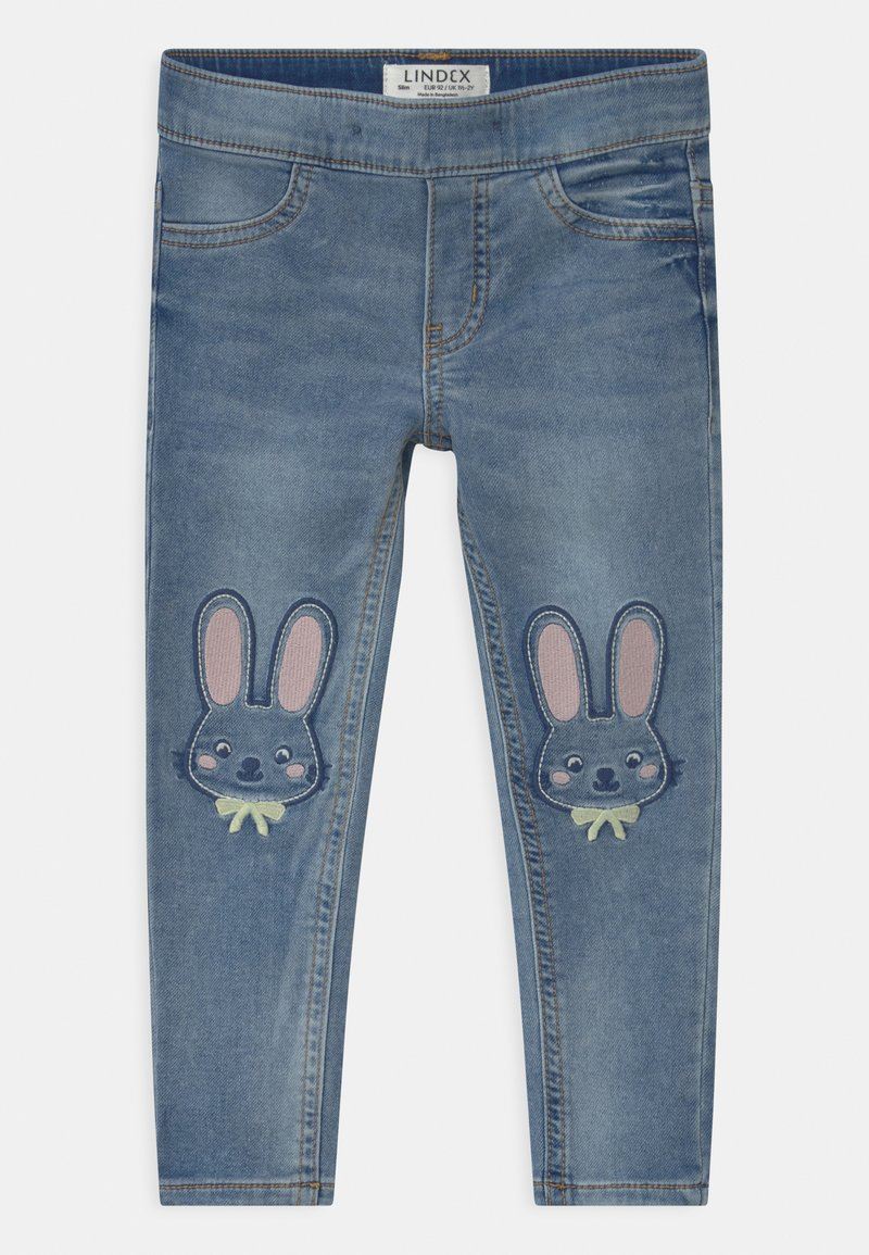 Lindex - KARIN - Jeans slim fit - blue denim
