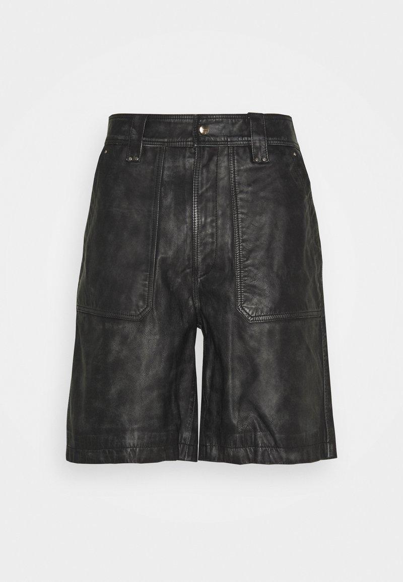 Diesel - SHANTY TROUSERS - Shorts - black