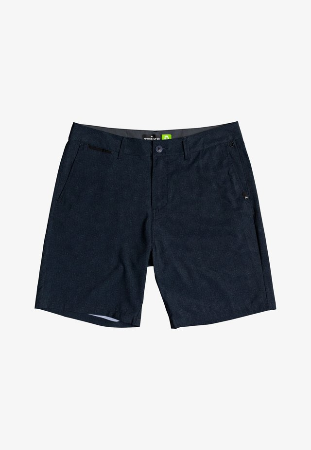 UNION HEATHER AMPHIBIEN - Sports shorts - black