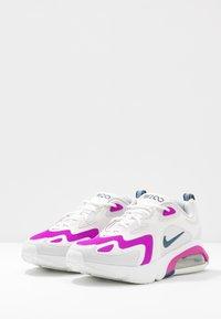 Nike Sportswear - AIR MAX 200 - Sneakersy niskie - photon dust/valerian blue/white/vivid purple - 4