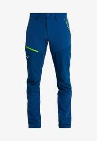 Salewa - PUEZ ORVAL - Outdoorové kalhoty - poseidon - 5