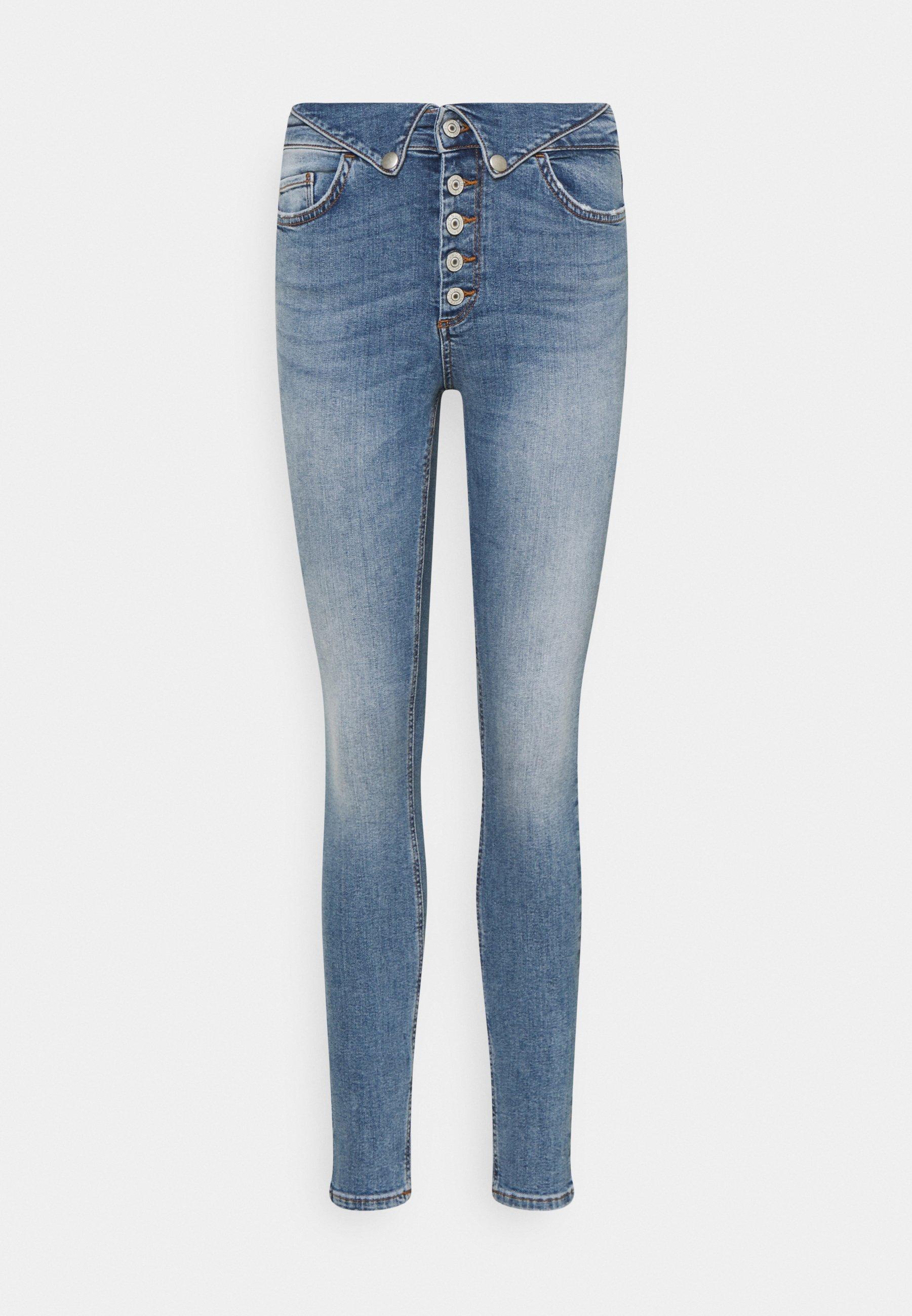 Femme ONLHUSH FOLDDOWN - Jeans Skinny