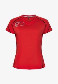 Newline - CORE COOLSKIN TEE - Sports shirt - red - 0