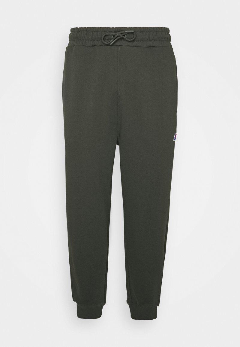 K-Way - ANDRE UNISEX - Trousers - black torba