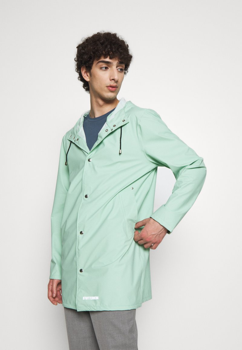Stutterheim - STOCKHOLM - Waterproof jacket - green mint