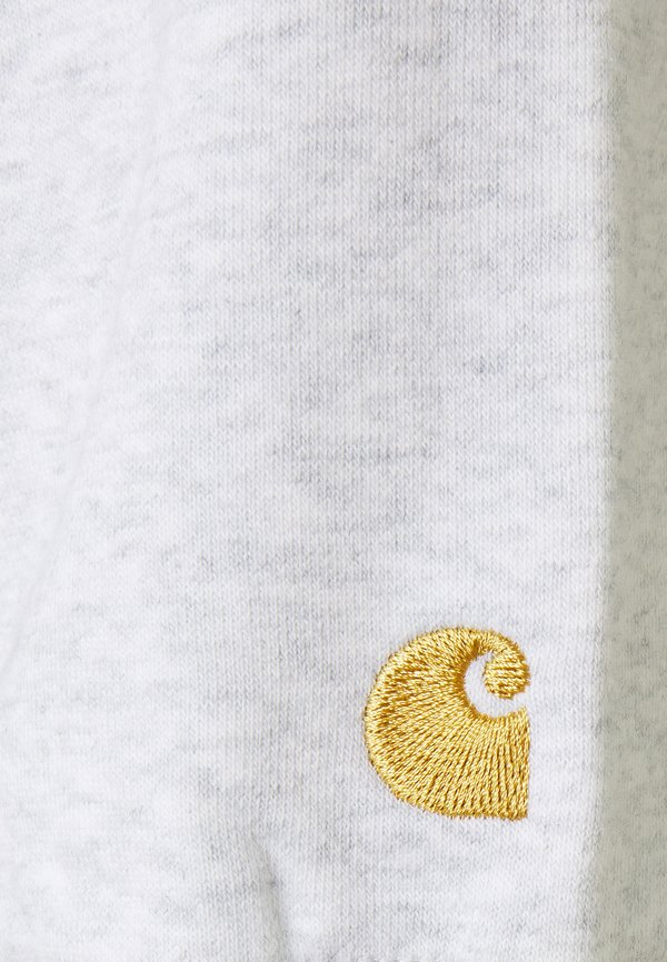 Carhartt WIP HOODED CHASE - Bluza rozpinana - ash heather/szary Odzież Męska MDBT