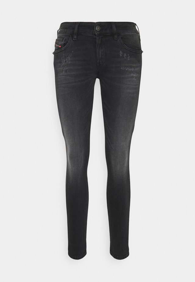 SLANDY LOW - Jeans Skinny Fit - grey