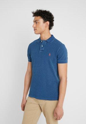 SLIM FIT - Koszulka polo - medium indigo