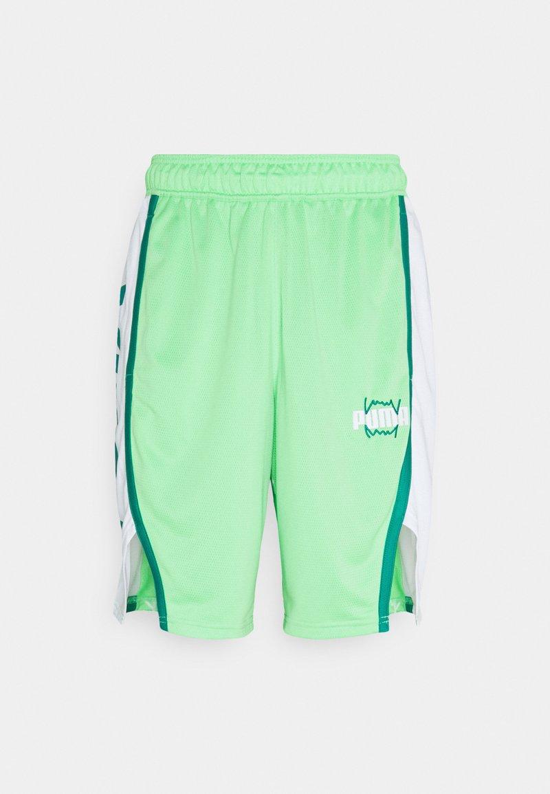 Puma - CURL SHORT - Sports shorts - summer green