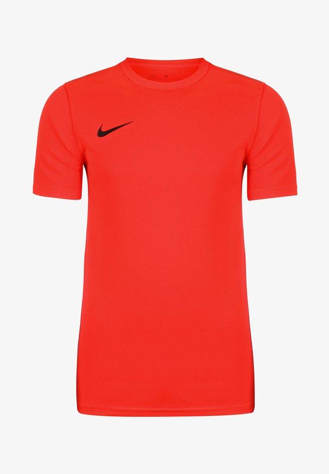 DRI-FIT PARK - T-shirt basique - bright crimson / black
